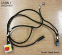 [200004405_1] WIRING HARNESS, Smart Feed, Cabin 1 with emergency stop, TECHNION, 555000037.0