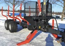 FT11 Trailer (Bolsters 3 pairs, Draw bar down, turning eye, Without drive, 500/50-17 PR18 reinforced, Off-road use, Without brakes, Tractor hydraulics)