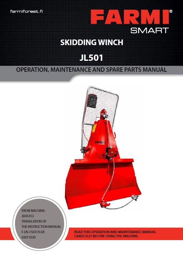 CH27DMR Manual and Spare Parts (copy)