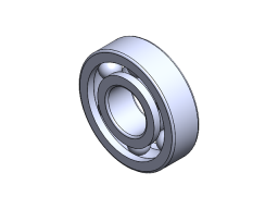 GROOVE BALL BEARING, 6305/2RS, ITÄ