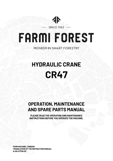 CR47 Manual and Spare Parts