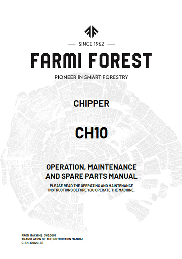CH10 Manual and Spare Parts