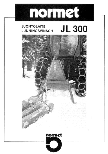 JL300-JL300PT Manual and Spare Parts
