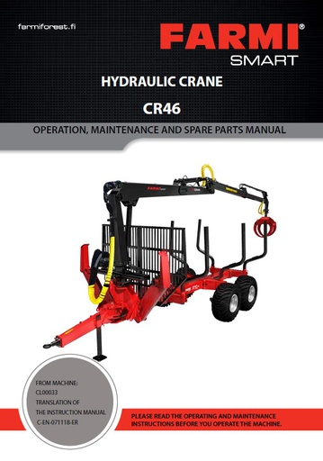 CR46 Manual and Spare Parts