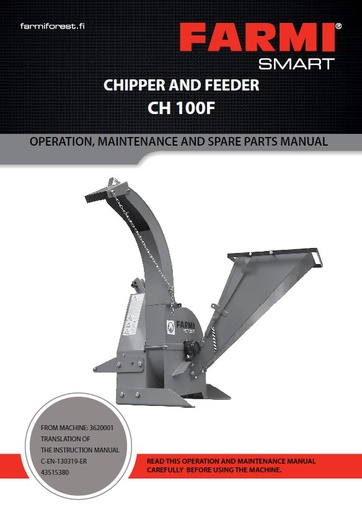 CH100 Manual and Spare Parts
